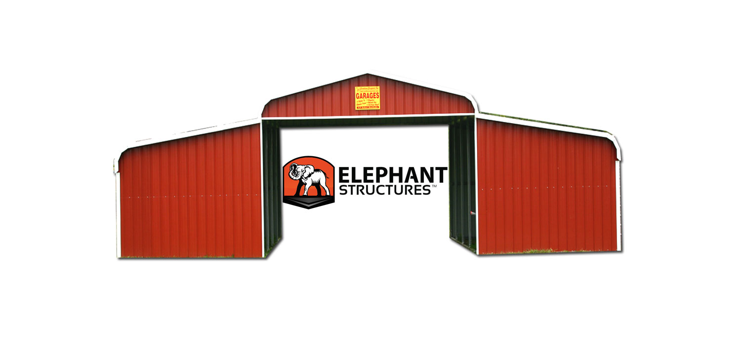 Metal barn kit elephant barns for Metal barn home kits