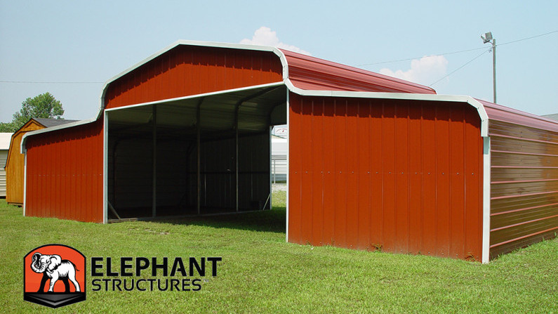 Metal Barns For Sale Metal Barn Cost Steel Garage Kits