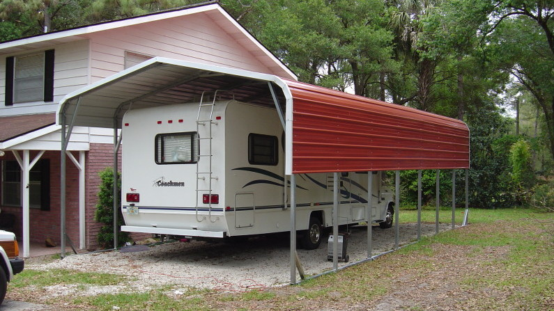 Travel Trailer Storage Sheds Photos