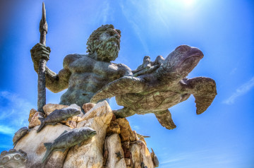 King Neptune, Virginia Beach