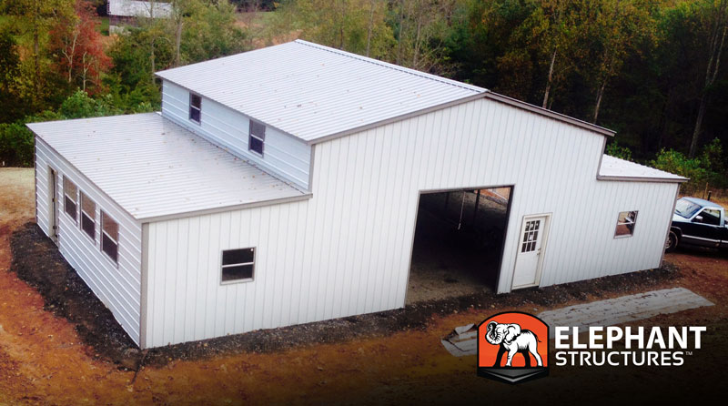 Elephant Metal Buildings : How do metal barns deal with mold