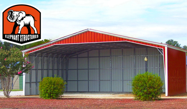 Elephant Metal Carports : Elephant structures metal barns garages and carports