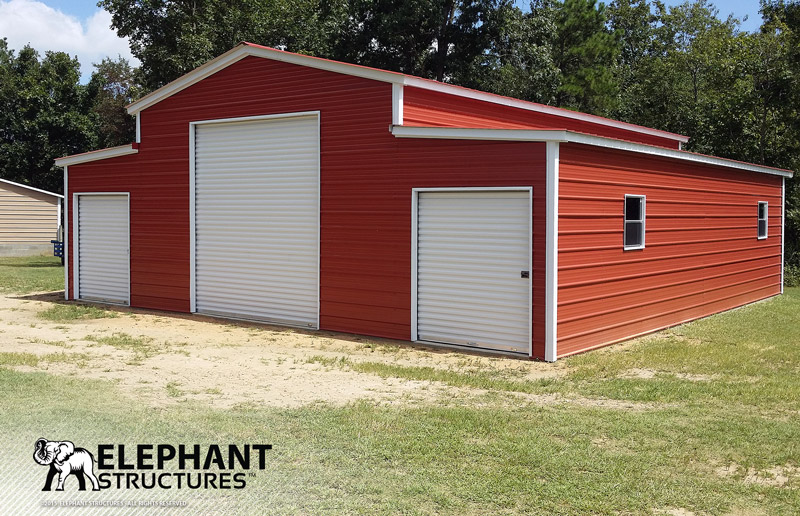 Farm buildings and steel barns for all ages elephant for Metal barn pictures