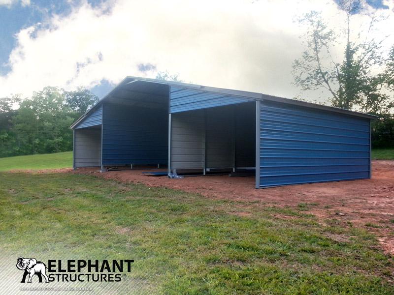 Custom Steel Barn