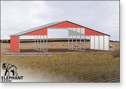 48 x 30 Metal Barn