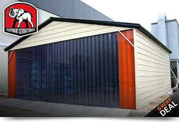 Commercial Metal Building Warehouse Storage
