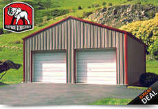 Two Car Garage Building
