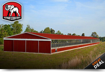 Metal Horse Barn Riding Arena