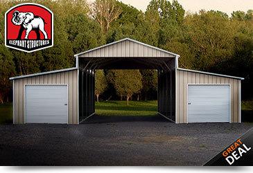 Ridgeline Style Metal Barn