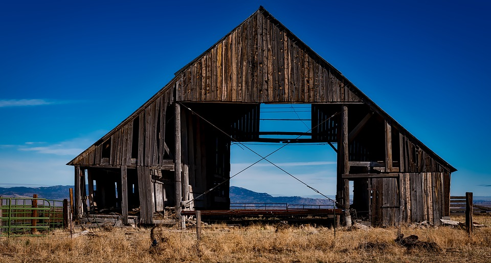 Buying a metal barn eliminates the headache of dealing with wood rot.