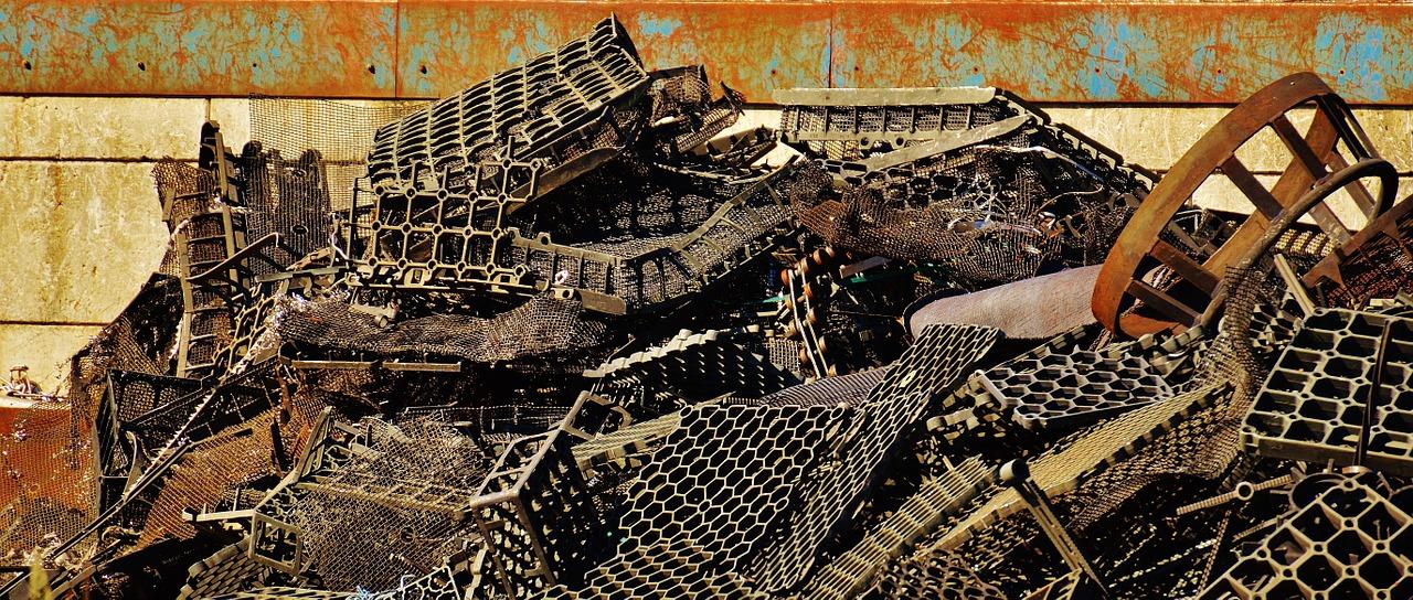pile of steel