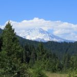 Mount Shasta near Happy Valley, California