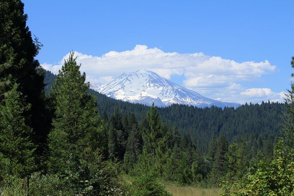 Mount Shasta near Happy Valley, California