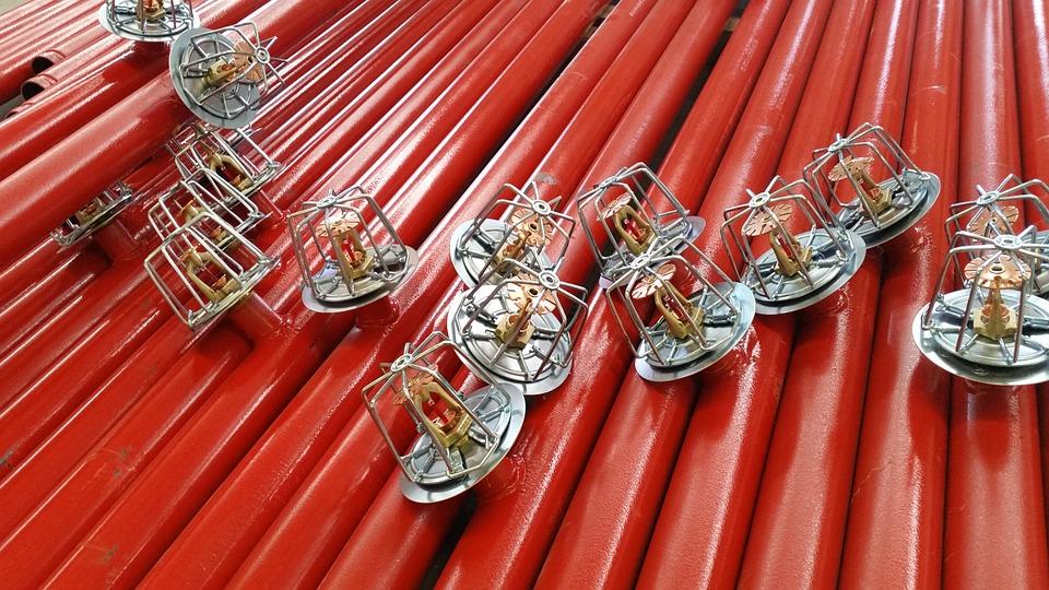 steel barns fire sprinkler system