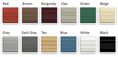 Order Color Samples Metal Carport Roof And Siding Color